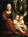 Madonna and Child with the Infant St John c. 1515 - Martino Piazza Da Lodi