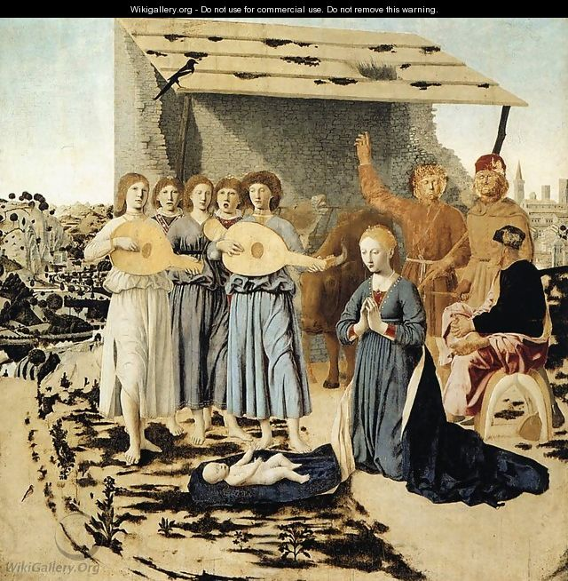 Nativity c. 1470 - Piero della Francesca