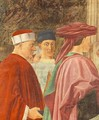 Meeting of Solomon and the Queen of Sheba (detail-3) c. 1452 - Piero della Francesca