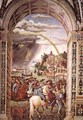 Aeneas Piccolomini Leaves for the Council of Basle 1502-08 - Bernardino di Betto (Pinturicchio)