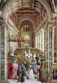 Aeneas Piccolomini Crowned as Pope 1502-08 - Bernardino di Betto (Pinturicchio)