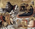 The Nativity and Other Episodes from the Childhood of Christ c. 1330 - Pietro da Rimini