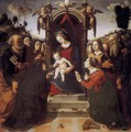Virgin and Child Enthroned with Saints 1493 - Piero Di Cosimo
