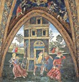 The Martyrdom of Saint Barbara - Bernardino di Betto (Pinturicchio)
