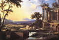 Landscape with Ruins - Pierre Patel