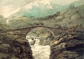 Bridge near Mount Grimsel 1770 - William Pars