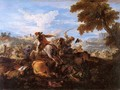 Cavalry Battle - Joseph Parrocel