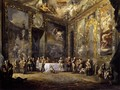 Charles III Dining before the Court c. 1788 - Luis Paret Y Alcazar