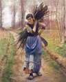 The Woodcutter's Daughter 1890s - Charles Sprague Pearce