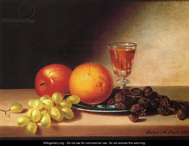 Fruit and Wine - Sarah Miriam Peale