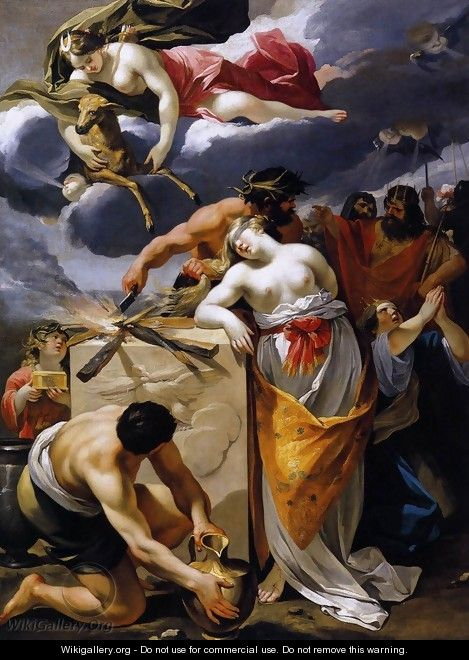 The Sacrifice of Iphigenia 1632-33 - Francois Perrier