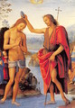 The Baptism of Christ 1490-1500 - Pietro Vannucci Perugino