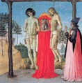St. Jerome Supporting Two Men on the Gallows - Pietro Vannucci Perugino