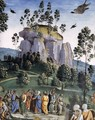 Moses's Journey into Egypt and the Circumcision of His Son Eliezer (detail-5) c. 1482 - Pietro Vannucci Perugino