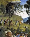 Moses's Journey into Egypt and the Circumcision of His Son Eliezer (detail-4) c. 1482 - Pietro Vannucci Perugino