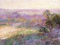 Last Rays of Sunlight, Early Spring in San Antonio 1922 - Julian Onderdonk