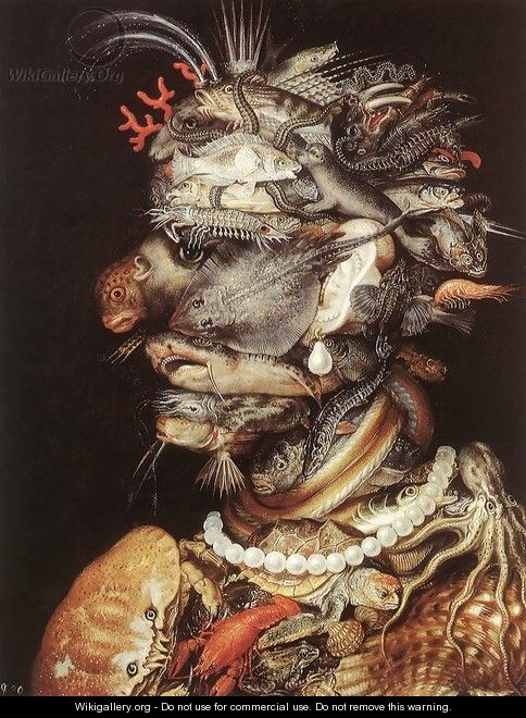 The Water The Water 1563-64 - Giuseppe Arcimboldo
