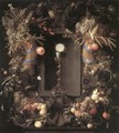 Eucharist in Fruit Wreath 1648 - Jan Davidsz. De Heem