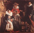 The Family Of The Artist - Jacob Jordaens