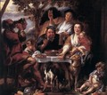 Eating Man - Jacob Jordaens