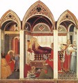 The Birth Of Mary - Pietro Lorenzetti