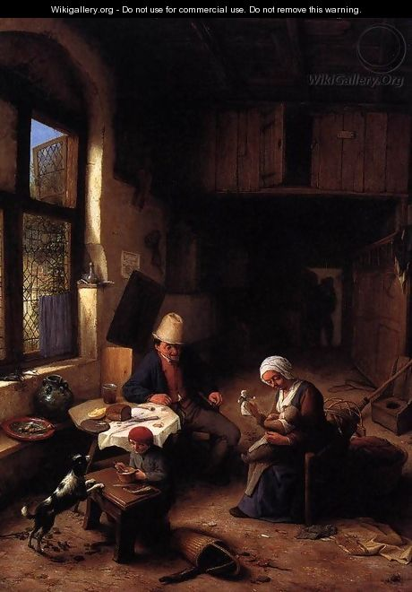 The Interior of a Peasant