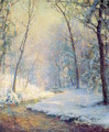 The Early Snow - Walter Launt Palmer
