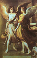 Angels' Kitchen (detail) 1646 - Bartolome Esteban Murillo