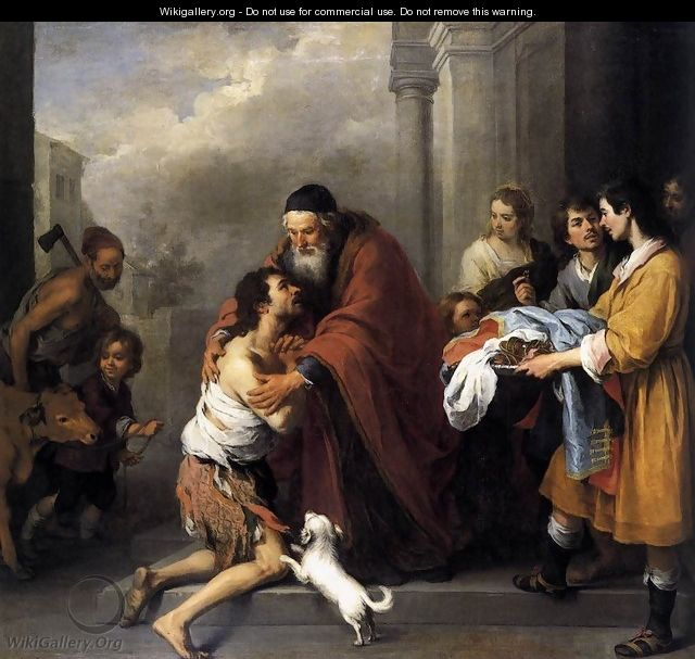 Return of the Prodigal Son 1667-70 - Bartolome Esteban Murillo