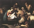 Adoration of the Shepherds 1650-55 - Bartolome Esteban Murillo