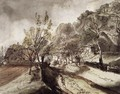 Village Street with Houses 1791 - Christoph Nathe
