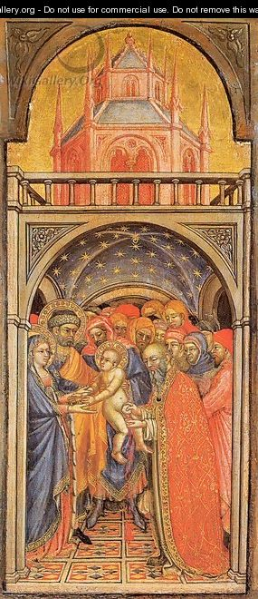 The Circumcision of Jesus 1425 - Ottaviano Nelli