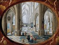 Interior of a Gothic Church 1653 - Peeter, the Younger Neeffs