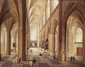 Interior of a Church (2) - Peeter, the Elder Neeffs