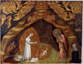 St Bridget and the Vision of the Nativity after 1372 - Niccolo Di Tommaso