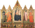 The Virgin Enthroned with Saints 1404 - Lorenzo di Niccolo