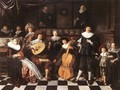 Family Making Music 1630s - Jan Miense Molenaer