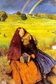 The Blind Girl 1854-56 - Sir John Everett Millais