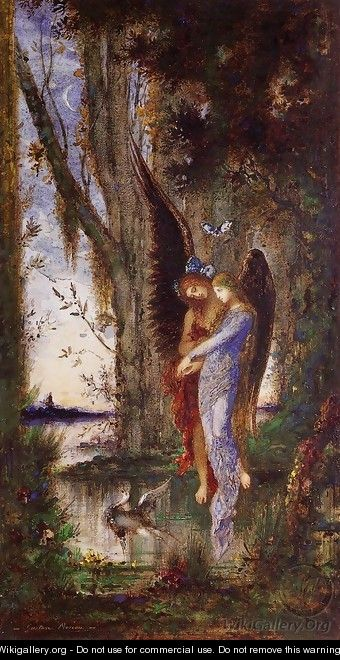 Evening and Sorrow 1882-84 - Gustave Moreau