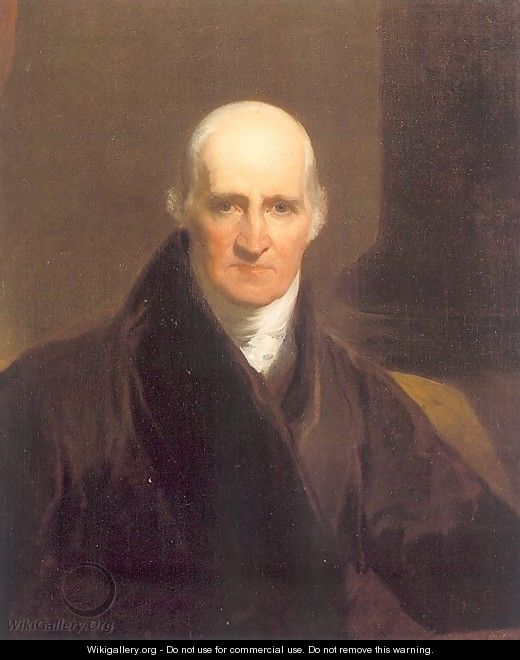 Portrait of Benjamin West (copy after Sir Thomas Lawrence) 1824-26 - Samuel Finley Breese Morse