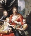 Sophia Hedwig, Countess of Nassau Dietz, with her Three Sons 1621 - Paulus Moreelse