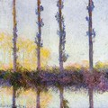 Four Poplars - Claude Oscar Monet