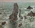 Rocks at Belle-Ile (The Needles of Port-Coton) - Claude Oscar Monet