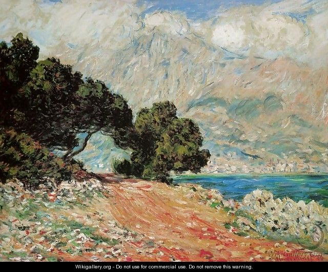 Cap Martin, near Boston - Claude Oscar Monet