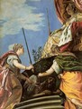 Venice Enthroned Between Justice and Peace - Paolo Veronese (Caliari)