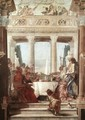 The Banquet of Cleopatra 1746-47 - Giovanni Battista Tiepolo