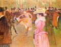 Training of the New Girls by Valentin at the Moulin Rouge 1889-90 - Henri De Toulouse-Lautrec