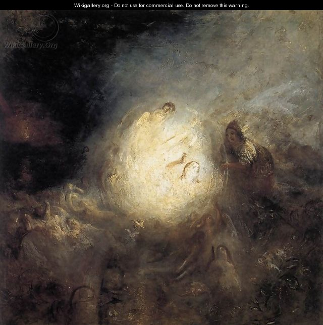 Undine Giving the Ring to Massaniello, Fisherman of Naples 1846 - Joseph Mallord William Turner