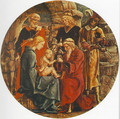 Adoration of the Magi (from the predella of the Roverella Polyptych) 1474 - Cosme Tura