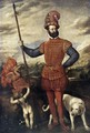 Portrait of a Military Commander 1550-55 - Tiziano Vecellio (Titian)